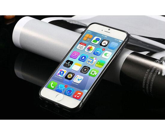 """Черный силиконовый чехол """"Air case"""" для iPhone 6/6S"""
