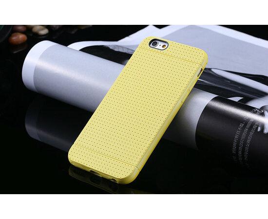 """Желтый силиконовый чехол """"Air case"""" для iPhone 6/6S"""