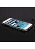 Алюминиевый черный бампер со стразами для iPhone 6/6S