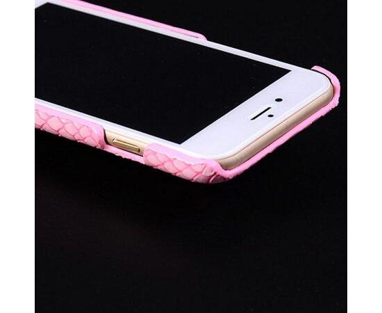 """Розовый пластиковый чехол """"Лев"""" для iPhone 6/6S"""