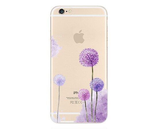 """Чехол """"Одуванчики"""" силиконовый для iPhone 6/6S"""