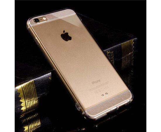 Серебряный силиконовый чехол для iPhone 6/6S