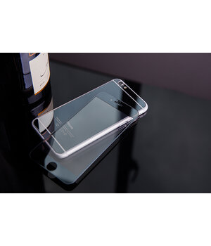 Переднее+заднее черное стекло для iPhone 6 Plus/6S Plus