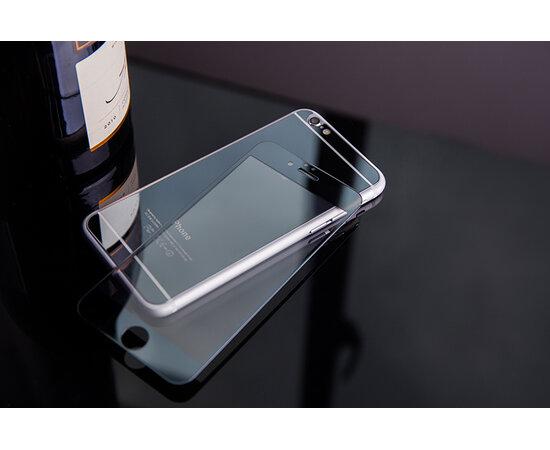 Переднее+заднее черное стекло для iPhone 6/6S