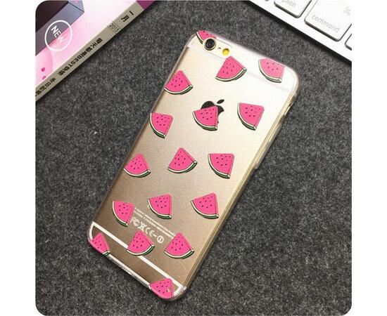 """Чехол """"Арбуз"""" силиконовый для iPhone 6/6S"""