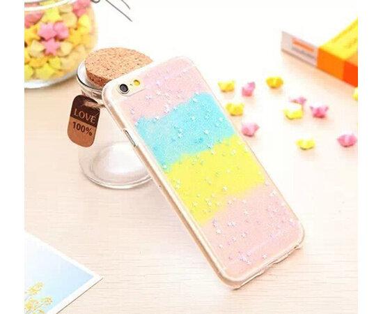Антиударный силиконовый чехол разноцветный для iPhone 6/6S