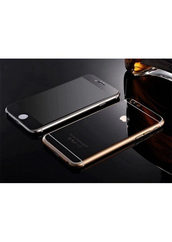 Закаленное стекло 3D с цветной рамкой (fullscreen) для iPhone 7 Plus DF iColor-10 (black)