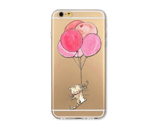 """Чехол """"Воздушные шарики"""" силиконовый для iPhone 6/6S"""