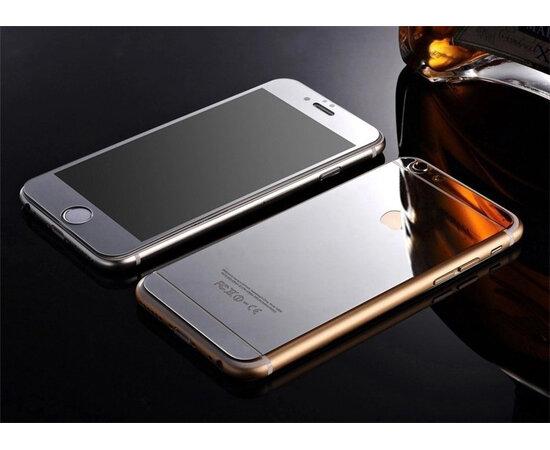 Переднее+заднее серебряное стекло для iPhone 6 Plus/6S Plus