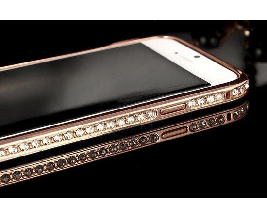 Алюминиевый rose-gold бампер для iPhone 6/6S