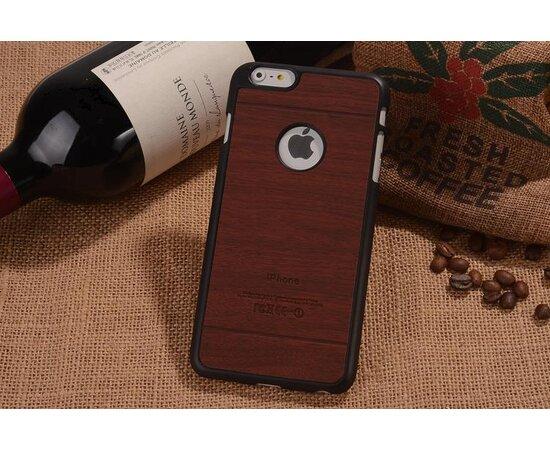 """Чехол """"Дерево"""" пластиковый для iPhone 6/6S красное дерево"""