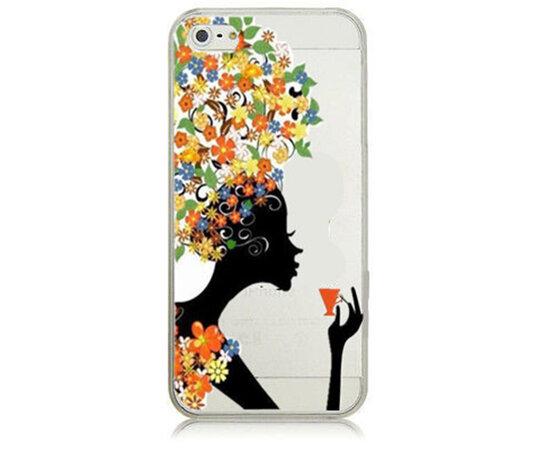 """Чехол """"Девушка-лето"""" пластиковый для iPhone 6/6S"""