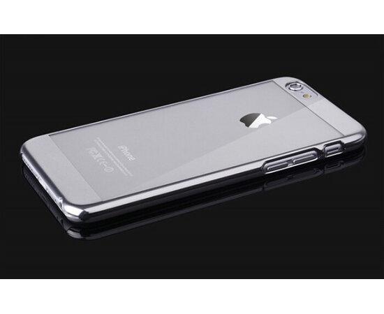 Серебряный пластиковый чехол для iPhone 6/6S