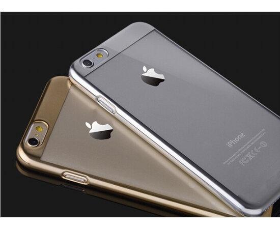 Золотой пластиковый чехол для iPhone 6/6S