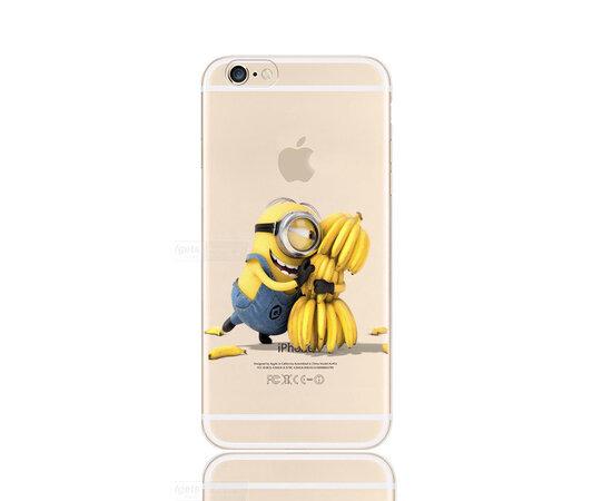 """Чехол """"Миньон"""" силиконовый для iPhone 6/6S"""