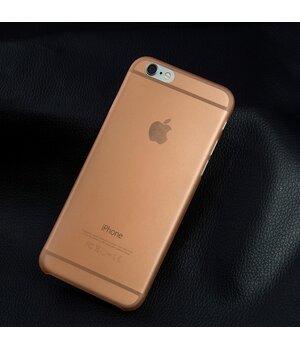 "Ультратонкий чехол ""Ultrathin 0.3mm"" оранжевый для iPhone 6 Plus/6S Plus"