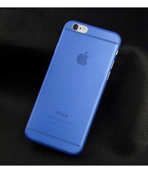 """Ультратонкий чехол """"Ultrathin 0.3mm"""" синий для iPhone 6 Plus/6S Plus"""