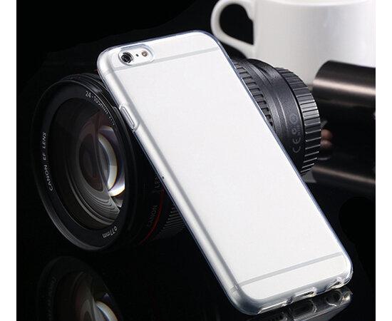 Ультратонкий силиконовый чехол прозрачный для iPhone 6/6S