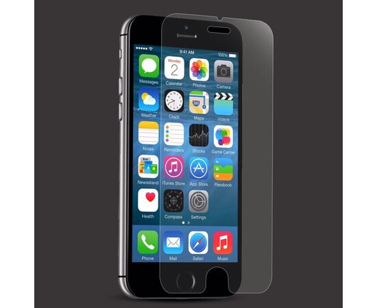 Переднее прозрачное стекло REMAX PLUS для iPhone 6/6S