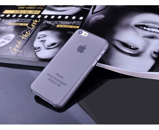 "Ультратонкий чехол ""Ultrathin 0.3mm"" серый для iPhone 5C"
