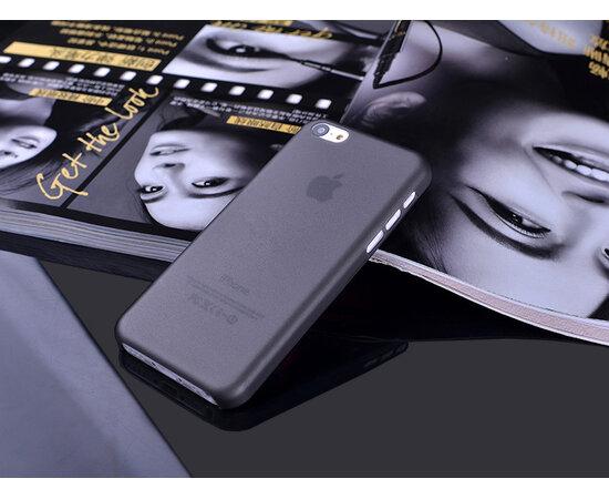 """Ультратонкий чехол """"Ultrathin 0.3mm"""" черный для iPhone 5C"""