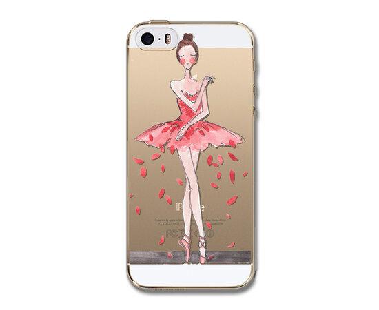 """Чехол """"Балерина"""" силиконовый для iPhone 5C"""