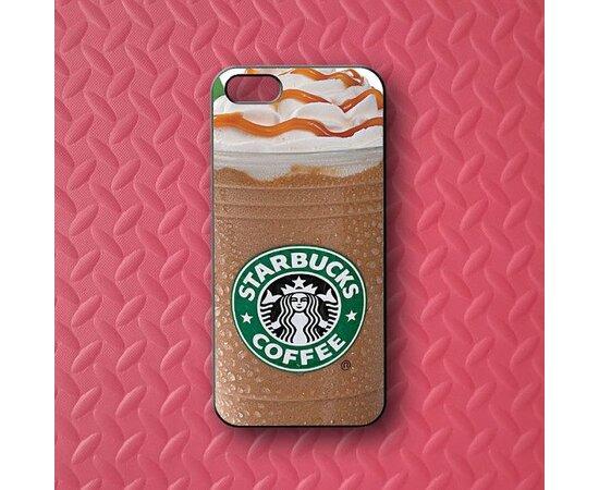 """Чехол """"Starbucks"""" пластиковый для iPhone 5C"""