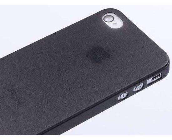 """Ультратонкий чехол """"Ultrathin 0.3mm"""" черный для iPhone 4/4S"""