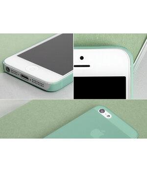 """Ультратонкий чехол """"Ultrathin 0.3mm"""" зеленый для iPhone 4/4S"""