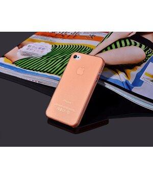 """Ультратонкий чехол """"Ultrathin 0.3mm"""" оранжевый для iPhone 4/4S"""