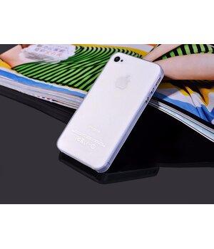 "Ультратонкий чехол ""Ultrathin 0.3mm"" белый для iPhone 4/4S"