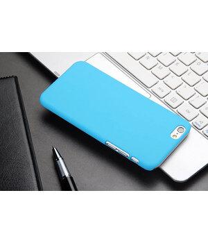 """Чехол """"Soft touch"""" пластиковый для iPhone 6 Plus/6S Plus бирюзовый"""