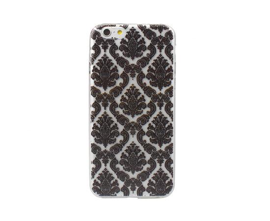 """Чехол """"Винтаж"""" силиконовый для iPhone 6 Plus/6S Plus черный"""