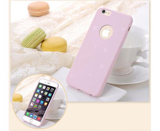 Силиконовый бледно-розовый чехол для iPhone 6 Plus/6S Plus