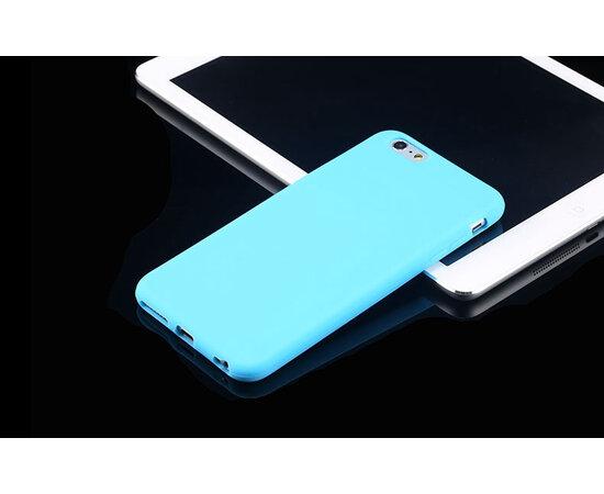 """Силиконовый бирюзовый чехол """"soft touch"""" для iPhone 6 Plus/6S Plus"""