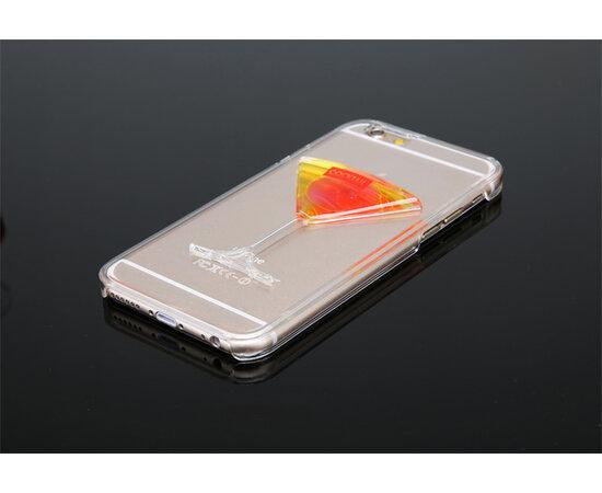 """Чехол """"Бокал"""" пластиковый для iPhone 6 Plus/6S Plus розовый"""
