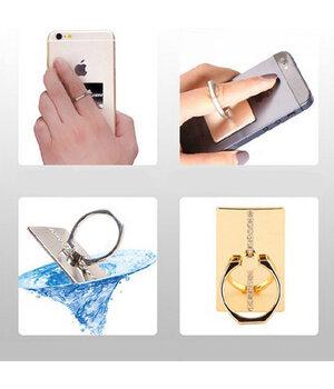 Кольцо-держатель silver для iPhone