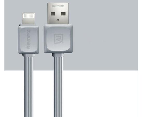 "Lightning USB кабель ""Remax"" серый для iPhone/iPod/iPad"